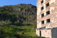 Порт-Владимир. Старая дозорная лестница