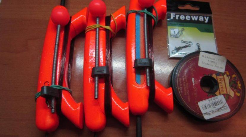 Комплект снастей для зимней рыбалки