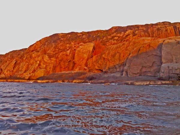 У Красных камней не клевало.. Но пейзаж был просто фантастический......